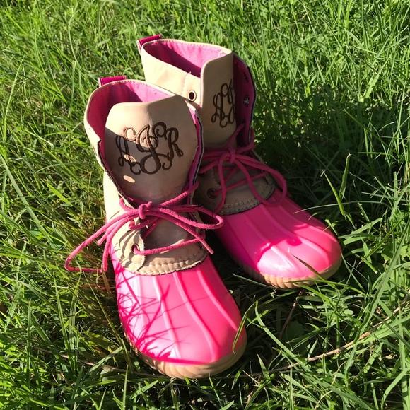 avanti Other - Kids monogrammed duck boots dc5e03908dea5